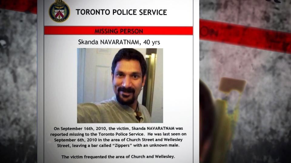 Skanda Navaratnam was the first known victim of an alleged serial killer stalking men in Toronto's gay village.