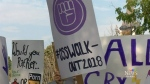 Students protest sex-ed curriculum  changes
