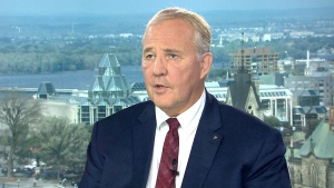 Border Security and Organized Crime Reduction Minister Bill Blair on CTV's Question Period.