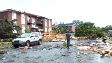 'The devastation is unreal': Witness on tornado