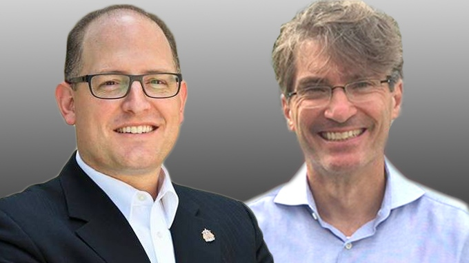 Drew Dilkens and Matt Marchand are running for Mayor of Windsor in the 2018 municipal election. ( file photo )