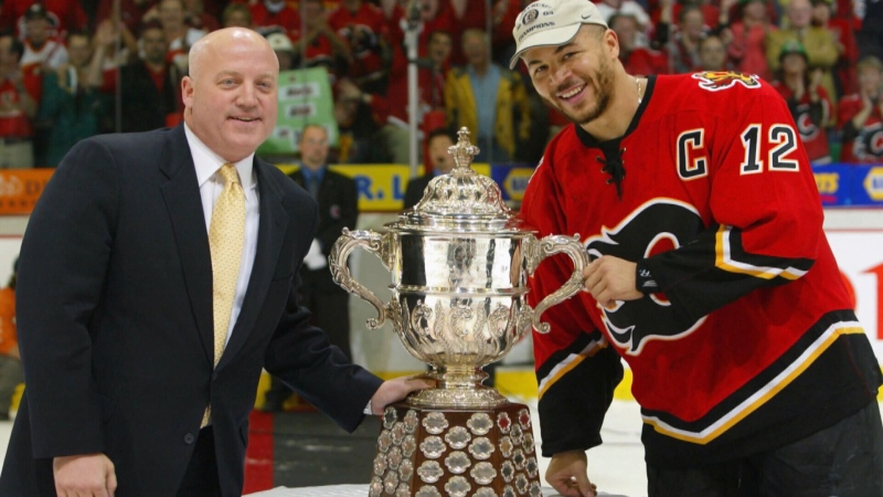 Jarome Iginla was the captain for the Calgary Flames for nine of the 16 seasons he played with the club. (File)