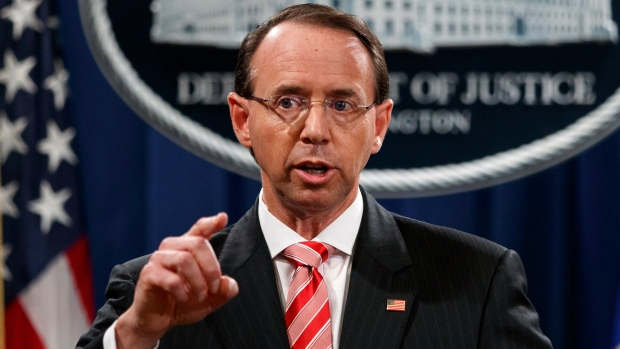 Rod Rosenstein Trump