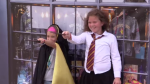Harry Potter fans have some fun at the Festival of Wizardry. (Sept. 21, 2018)