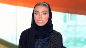 Saudi anchorwoman makes historic debit