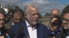 Philippe Couillard says Red Cross helping funds