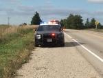 OPP investigate a crash on Putnam Road near Doan Drive on Saturday, Sept. 22, 2018. (Morgan Baker / CTV London)