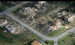 Overhead tornado shots
