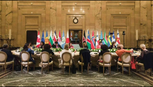 The summit of female leaders