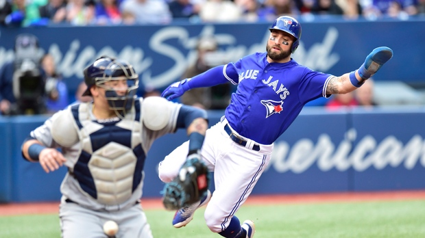 Blue Jays shock Rays with 7-run 9th