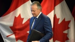 Governor of the Bank of Canada Stephen Poloz arrives for an interest rate announcement at the Bank of Canada in Ottawa on Wednesday, July 11, 2018. THE CANADIAN PRESS/Justin Tang