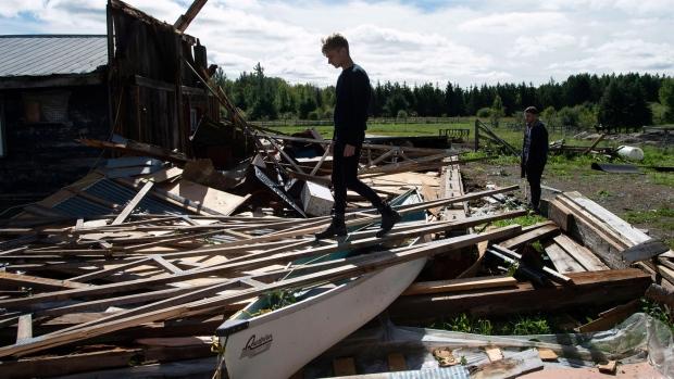 'Total destruction': Ont. resident on losing home