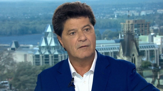 UNIFOR President Jerry Dias on CTV's Question Period on Sunday, September 23, 2018. (CTV News)