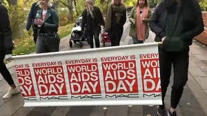 HIV Community Link says the AIDS Walk and Run, in Eau Claire Plaza, has taken place in Calgary every year since 1994.