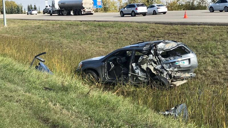 Gateway Boulevard collision