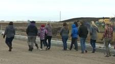 Langdon residents demand new school