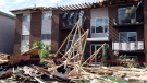 A damaged apartment building is seen in Gatineau, Que. on Sunday, September 23, 2018. Houses and Apartment buildings had roofs torn off and windows blown out and automobiles were damaged after a tornado caused extensive damage on Friday to a Gatineau neighbourhood forcing hundreds of families to evacuate their homes. THE CANADIAN PRESS/Fred Chartrand