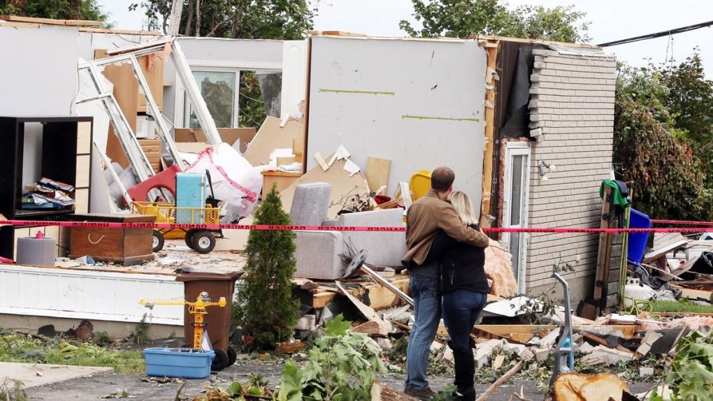 Residents Face Major Cleanup After Tornado Ctv News