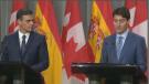 Sanchez and Trudeau