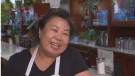 Ovaltine Cafe owner Grace Chen at her diner in the downtown eastside of Vancouver.