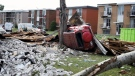 Devastating path of tornados leave thousands witho
