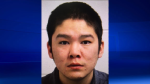 RCMP are searching for Tyson Cote after he escaped custody in Kamsack.