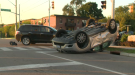 Rollover in Kitchener leads to charges being laid.