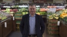 The parent company of grocery chain Sobeys Inc. says it has reached a deal to acquire food retailer Farm Boy in a bid to expand its reach in Ontario. Farm Boy CEO Jeff York poses for a photo in an Ottawa store on Thursday, May 26, 2016. THE CANADIAN PRESS/Adrian Wyld