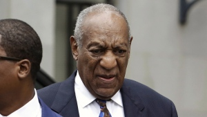 Bill Cosby arrives for his sentencing hearing at the Montgomery County Courthouse, on Sept. 24, 2018, in Norristown, Pa. (Jacqueline Larma / AP)