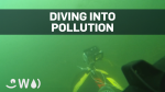 Diver swims St. Lawrence to reveal pollution