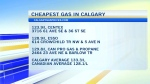 Calgary gas prices