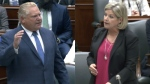 Ford, Horwath debate government spending