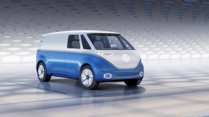The world premiere of the I.D. Buzz Cargo concept took place last week at the IAA Commercial Vehicles 2018 event in Hannover. (Volkswagen UK Media)