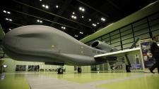 RQ-4 Global Hawk mockup