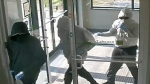 Bank robbery suspects St. Clair and Warden