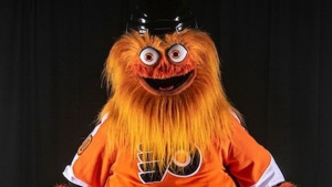 Flyers new mascot 'Gritty' a bearded, googly-eyed terror