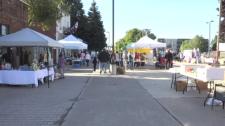 Jamestown outdoor market, Sault Ste. Marie