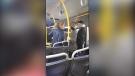 Threats aboard a B.C. bus