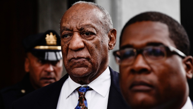 Bill Cosby departs from a sentencing hearing at the Montgomery County Courthouse, Monday, Sept. 24, 2018, in Norristown Pa. (AP / Matt Rourke)