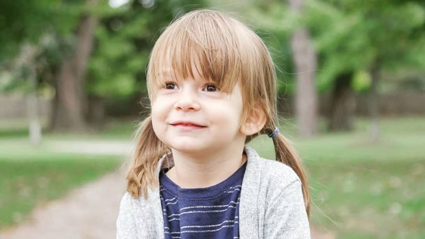 A three-year-old girl named Georgia was bitten at an off-leash dog park in Mississauga on Sept. 23, 2018.
