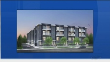 barrie proposed townhouses