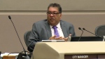 Mayor Naheed Nenshi discusses the leak of a sensitive document in council on September 24, 2018