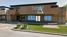 Mock-up image of the Delta 9 'superstore' planned for St. Vital. (CNW Group/Delta 9 Cannabis Inc.)