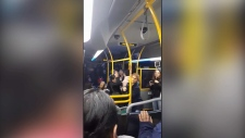 Transit police investigating tirade on bus