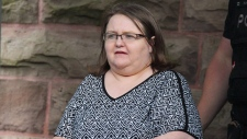 Elizabeth Wettlaufer is escorted by police from the courthouse in Woodstock, Ont., on June 26, 2017. A public inquiry examining the circumstances that allowed a long-term care nurse to kill elderly patients in her care is set to get underway this week. The probe will examine the systemic factors that allowed Elizabeth Wettlauferto inject more than a dozen patients with overdoses of insulin while working at long-term care homes and private residences in southwestern Ontario for nearly a decade. THE CANADIAN PRESS/Dave Chidley