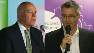 New Brunswick party leaders