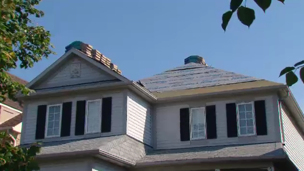 Jennifer Campbell had a new roof installed on her home in Oshawa, Ont.