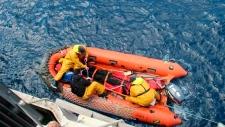 Abhilash Tomy raft rescue
