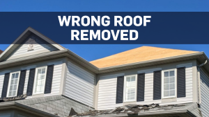 Ontario roofers take roof from wrong house