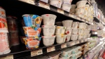 Yogurt is on display at a grocery store in River Ridge, La. in this July 11, 2018 file photo. The U.S. Food and Drug Administration and the dairy industry have been squabbling over the definition of yogurt for almost 40 years. (AP Photo/Gerald Herbert, File)